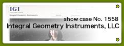 No.1558 Integral Geometry Instruments, LLC