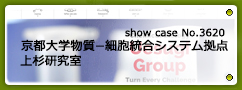 No.3620 京都大学 物質−細胞統合システム拠点 上杉研究室