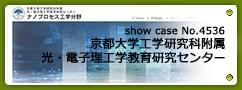 No.4536 京都大学工学研究科附属 光・電子理工学教育研究センター