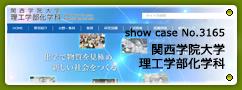 No.3165 関西学院大学理工学部化学科