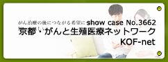 No.3662 京都・がんと生殖医療ネットワーク KOF-net