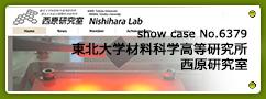 No.6379 東北大学材料科学高等研究所 西原研究室